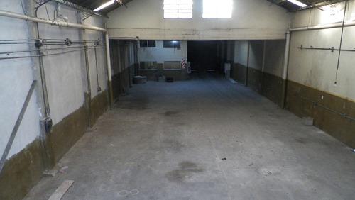 galpón de 480 m2 cubiertos+oficinas y pañol - sarandi