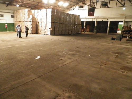 galpon de 6270 m2 cubiertos en venta o alquiler