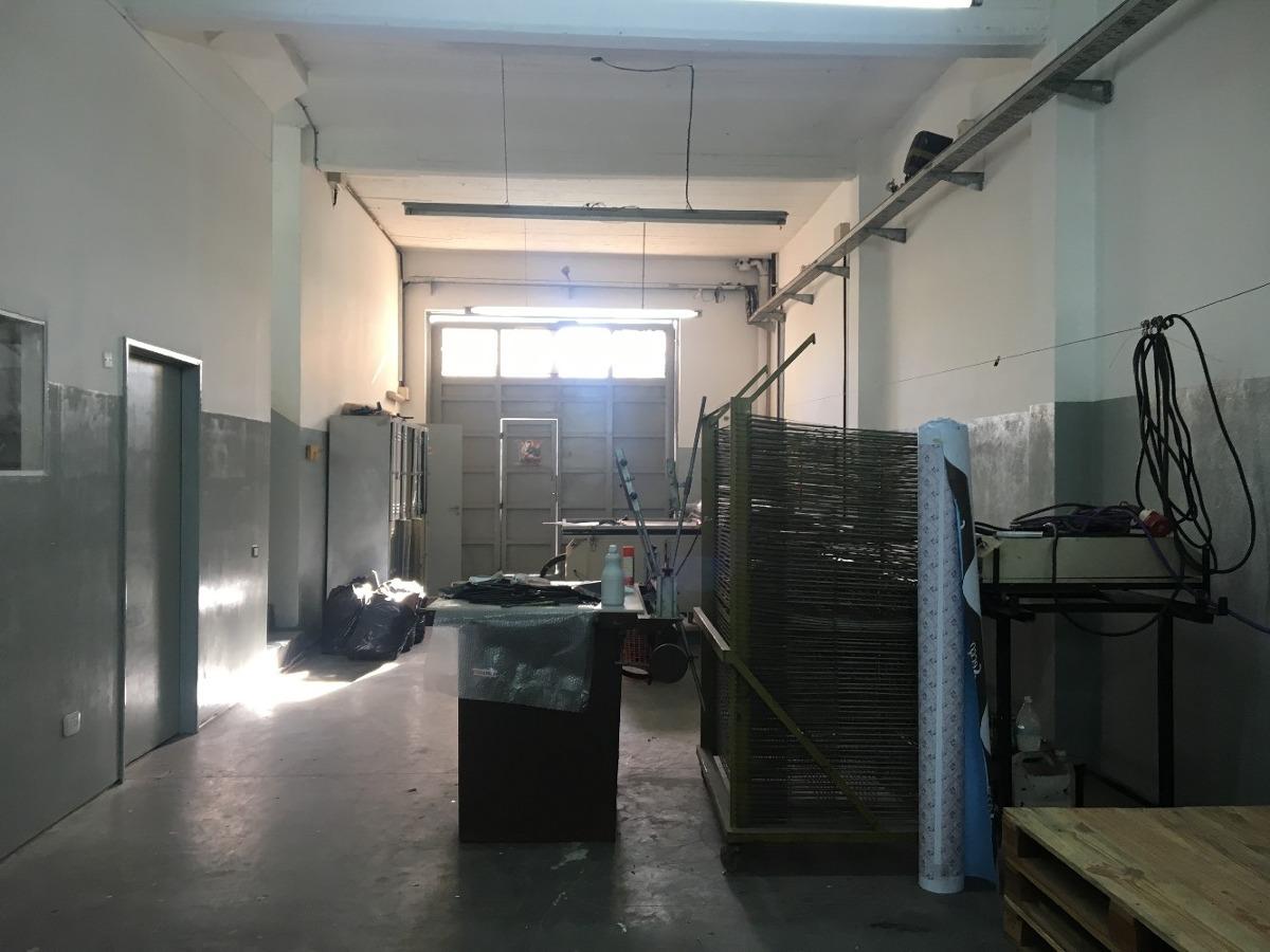 galpón / depósito 2 plantas (losa + parabólico) y oficinas