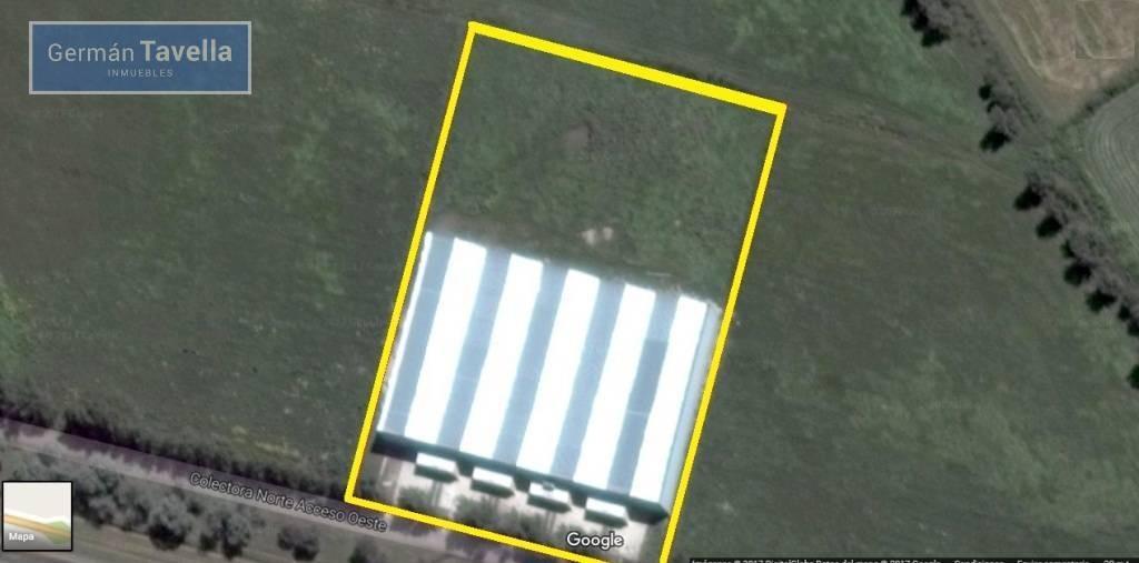 galpon en alquiler 1500 m2 acceso oeste km 54 gral rodriguez