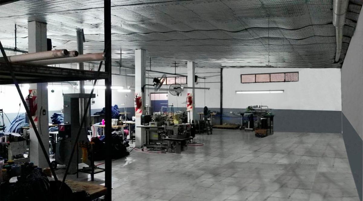 galpon en ibarlucea 400 m2 cubiertos sobre calle principal