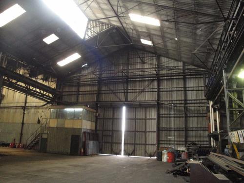 galpon en venta de 14500 m2 totales con 12500 cub - quilmes