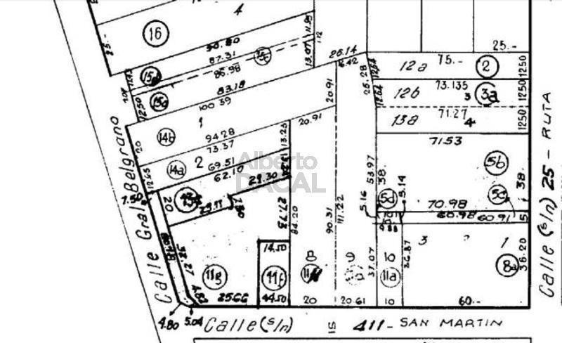 galpon en venta en belg esq. 411 villa elisa - alberto dacal propiedades