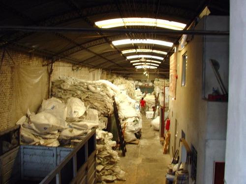 galpón en venta o alquiler de 477 m2 cubiertos - sarandi