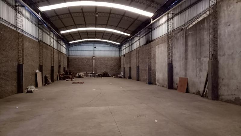 galpón industrial - circunvalación y avellaneda - 585m2 cubiertos