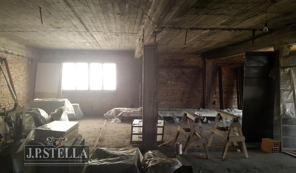 galpon industrial de losa 1208 m² cub en 2 plantas- lote 903 m² - villa luzuriaga