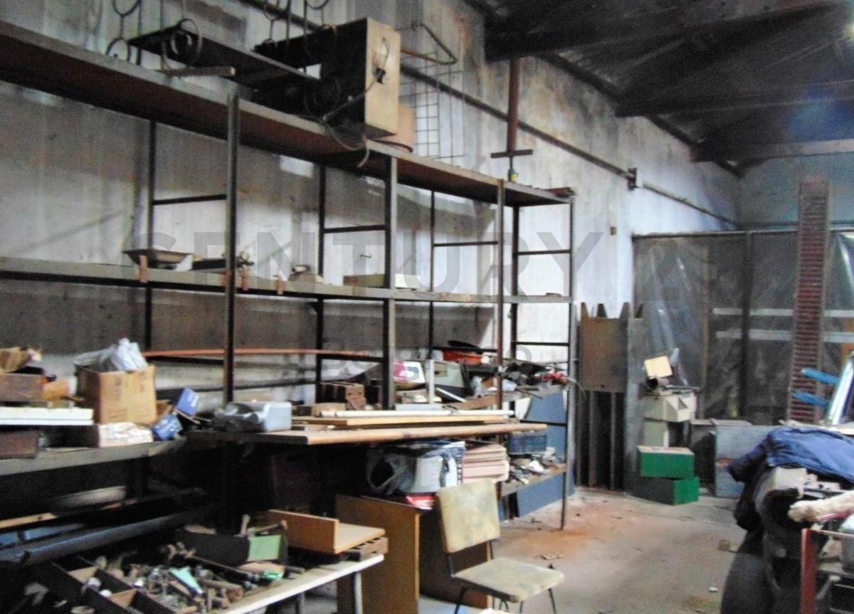 galpón, local, depósito, taller, más departamento 90 m2