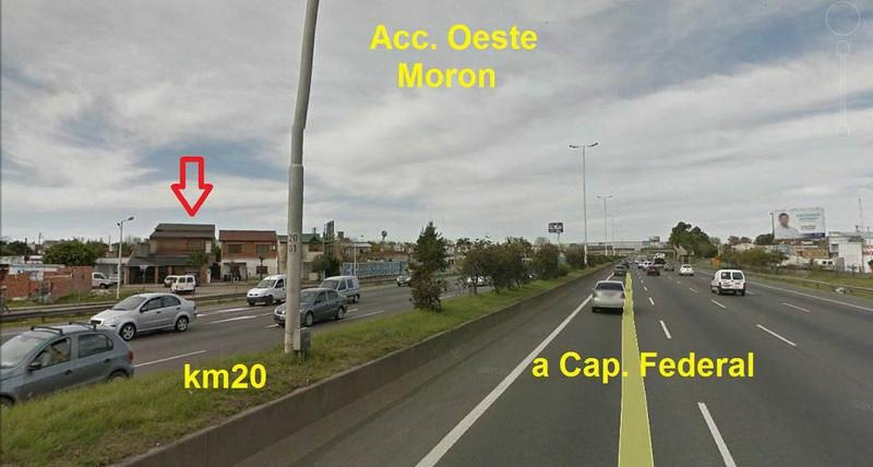 galpon loza 2 plantas 240m² autopista del oeste km 20 moron