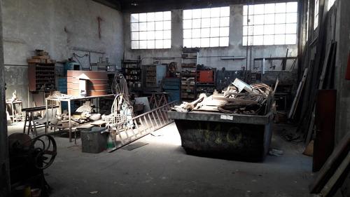 galpon mas vivienda en zona industrial