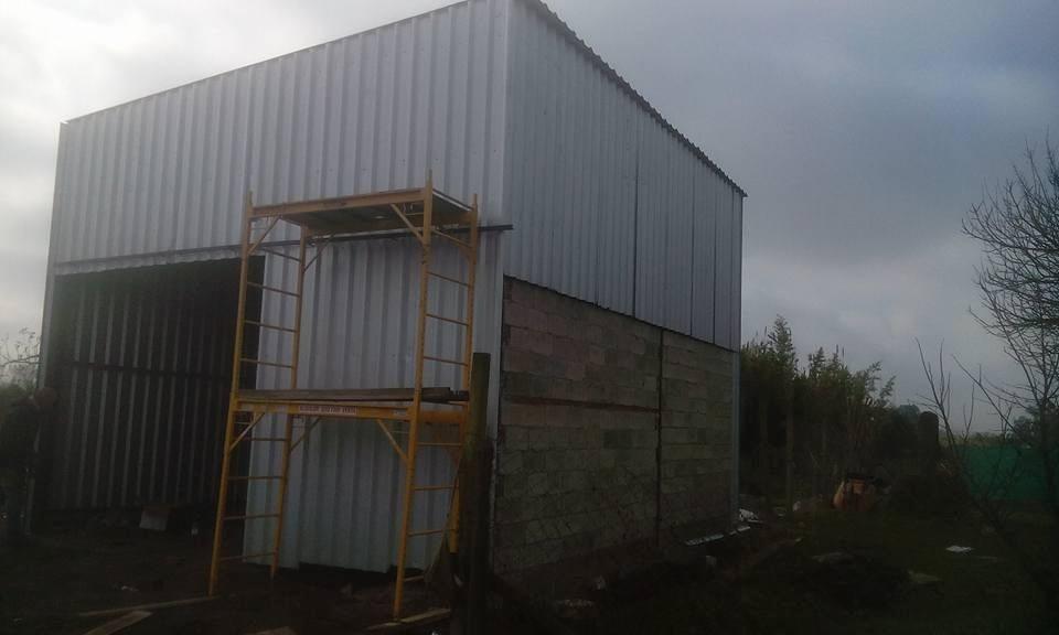 Galpon prefabricado de jardin 2x3 precio por metro for Tilapias por metro cuadrado