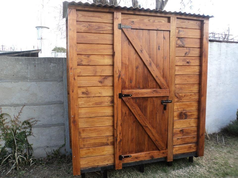 Armario de madera exterior armarios para exterior leroy - Armario exterior madera ...