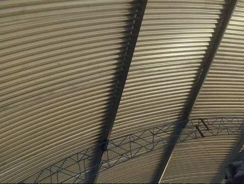 galpones construcción techos