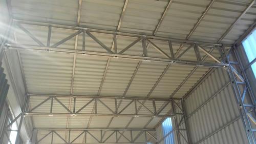 galpones en estructura de acero inox