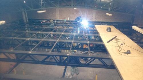 galpones metálicos fabricación y montaje