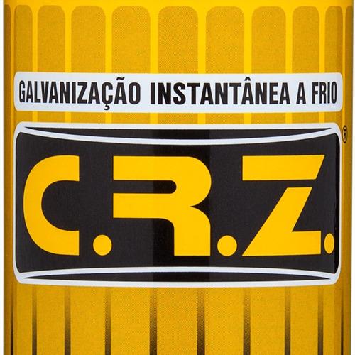 galvanização a frio spray crz 300ml dm1 quimatic tapmatic