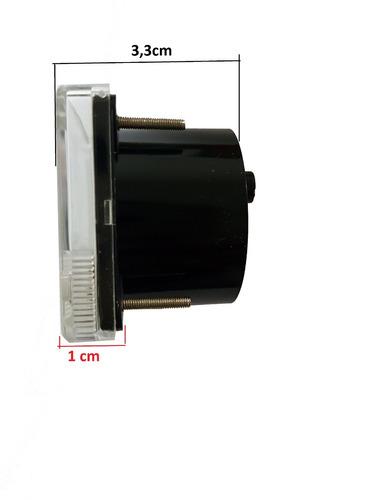 galvanometro voltimetro analógico 100 dc microamperes ..