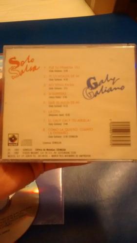 galy galiano sólo salsa 1992