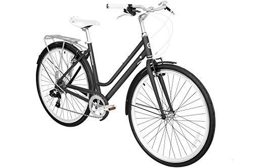 gama bikes women's metropole step-thru 8 velocidades sh