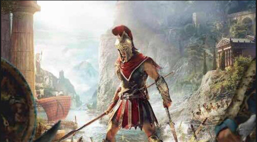 game assassins creed odyssey ps4 - midia fisica