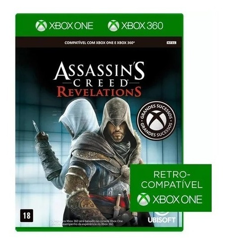 game assassins creed: revelations para xbox 360 e one