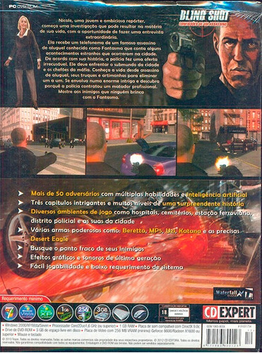 game blind shot assassinato cd expert completo em português