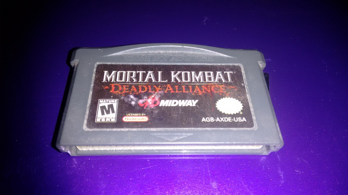 Motal Kombat Deadly Alliance Para Nintendo Game Boy Advance - $ 350 00