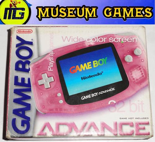 game boy advance rosa fucsia completa en caja - local !!!