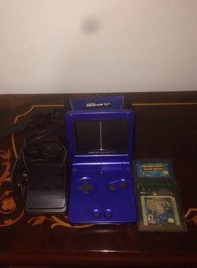 game boy advance sp 001 azul