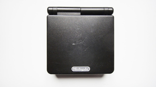game boy advance sp onyx  ags-001 ref. 8739 ( s/ carregador)