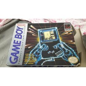 Game Boy Classic En Caja Con Manuales + Tetris + Cable Link!