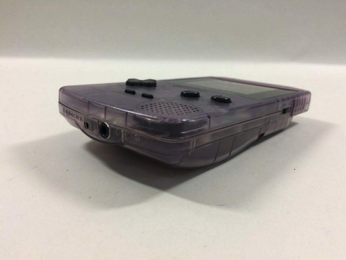 game boy color gbc roxo transparente ref.ka1058