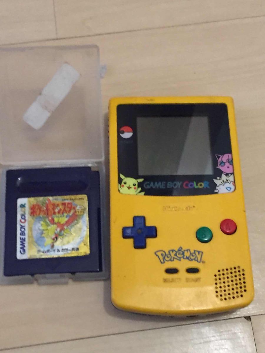 game boy color pokemon edition