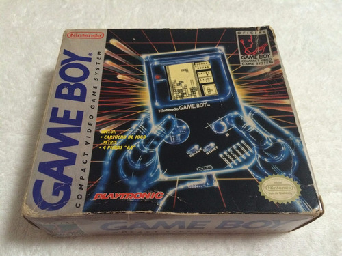 game boy compact video game system - completo - ultra raro