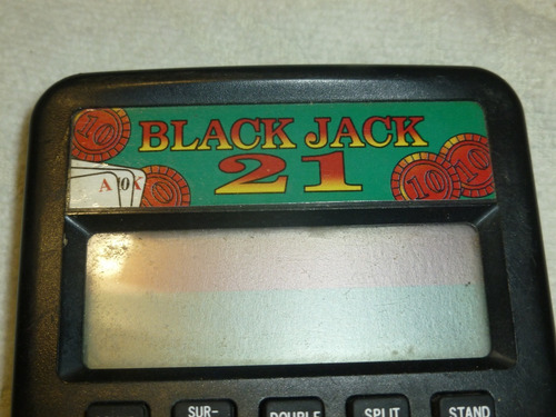 game boy de  black jack 21 marca radio shack vintag