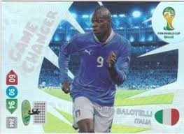 game changer mario balotelli** cards adrenalyn panini cup 14