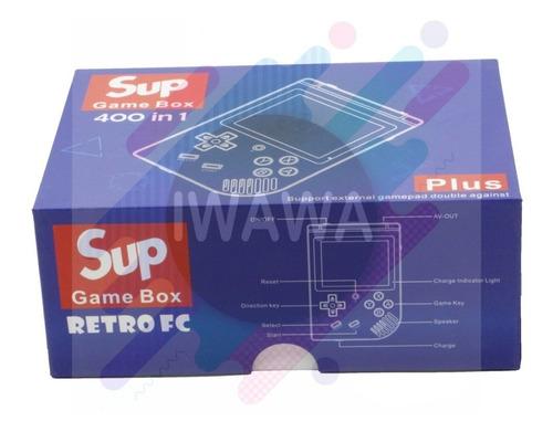game consola de video juegos retro  400 juegos en 1
