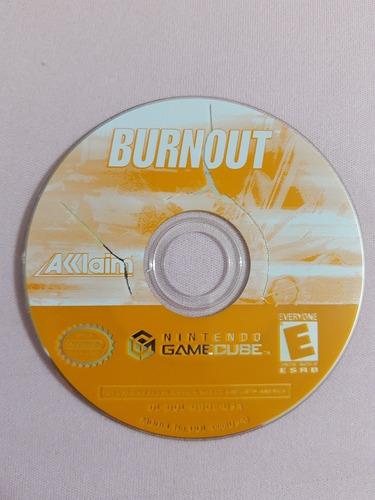 game cube: burnout americano completo!! raridade!! jogaço!!