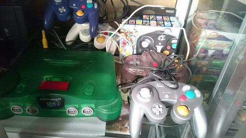 game cube controles palanca mandos jostick nintendo gamecube