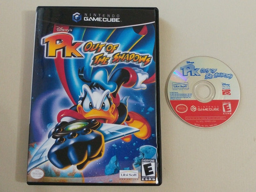 game cube: disney pk out of the shadows na caixa americano!!