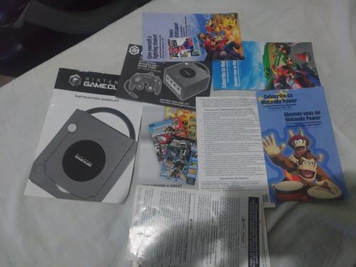 game cube edição limitada platinum - americano - completo !!