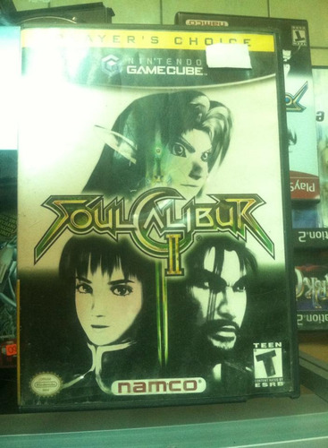 game cube soul calibur ii