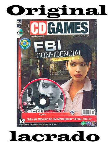 game fbi confidencial cd expert completo em português