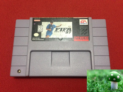 game fifa soccer 97 para super nintendo snes perfecto estado