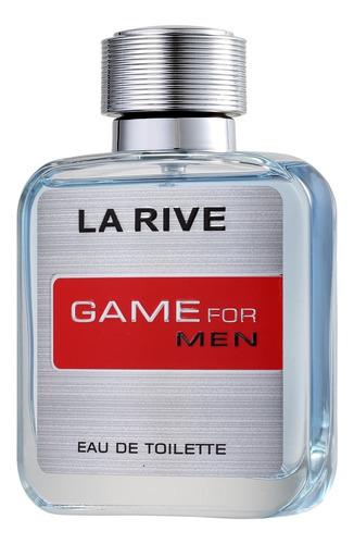 game for man la rive - perfume masculino 100ml blz