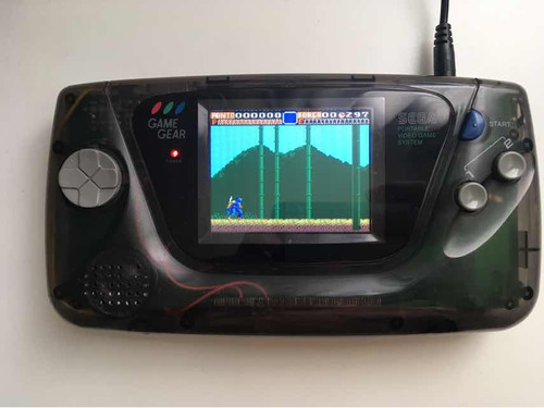 game gear raríssimo restaurado