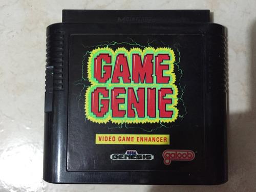 game genie.   sega génesis