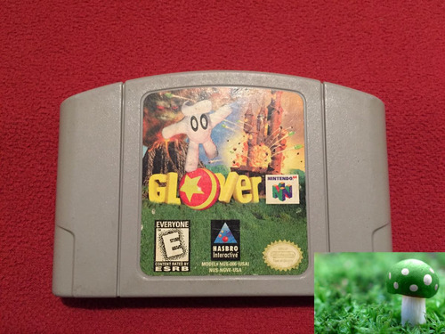 game glover para nintendo 64 en perfecto estado, como nuevo