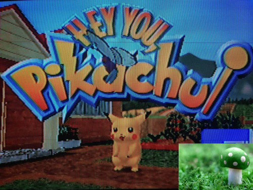 game hey you pikachu para nintendo 64, en perfecto estado