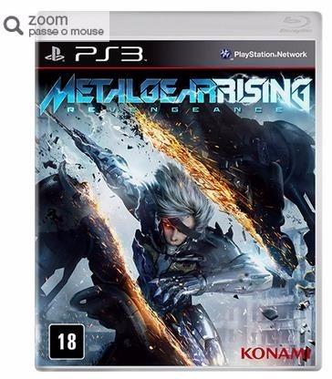 game metal gear rising - ps3