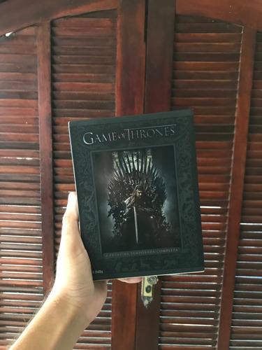 game of thrones 1° temporada - dvd - digipack